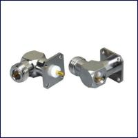 Buy cheap High quality right angle rf coaxial N connectors with cable from wholesalers