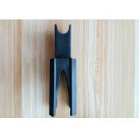 Buy cheap Black 50-140mm Plastic Rebar Supports / PP PE Plastic Rebar Chair from wholesalers