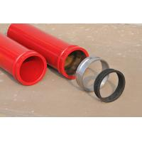 Buy cheap DN125 Concrete pump hardened pipe from wholesalers