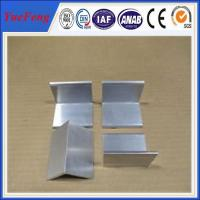 Wholesale Aluminium price per kg aluminum angle profile in china from china suppliers