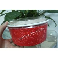 Wholesale Food grade Virgin enamel Paper Salad Bowls , paper serving bowls from china suppliers