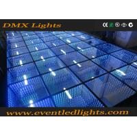 Wholesale Blue Interactive Video LED Dance Floor display - Uniview BO / BI from china suppliers