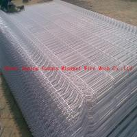 Wholesale Temporary decorative Garden Welded Curved Fence/Bending Triangular Wire Mesh Fence from china suppliers