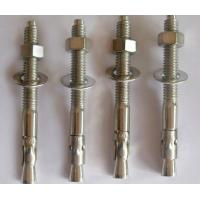 Wholesale DIN ANSI JIS  Wedge Anchor Bolt 202 304 316 Stainless Steel Fasteners M6 - M33 from china suppliers
