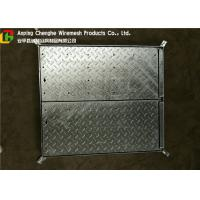 Wholesale Galvanized Metal Driveway Drainage Grates , Hinge Stainless Steel Grates For Driveways from china suppliers