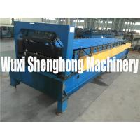 Wholesale Unique Wave Style Tile Roof Roll Forming Machine for Making Color Steel Tile from china suppliers