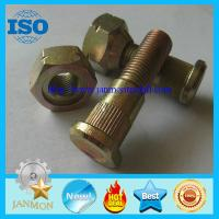 Wholesale Auto bolt&nut,Auto Hub bolt&nut,Auto Wheel bolt&nut,Nonstandard Bolt&nut,OEM Auto part,Zinc plated hub bolt and nut 10.9 from china suppliers