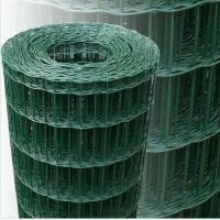 Wholesale Galvanized Iron Green Garden Wire Fence , Low Carbon Steel Wire Mesh Roll from china suppliers