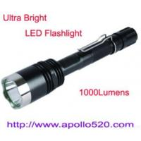 Quality 1000lumens Cree Led Torch Tactical Flashlight for sale
