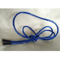 Wholesale Soft / Matt Silicone Ending Zipper Cord With 2.5mm Cotton String from china suppliers