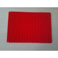 Wholesale Heat Resistant Red Silicone Baking Mat Pyramid Pan With Eco-Friendly from china suppliers