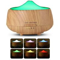 Quality 250ml Wooden Aromatherapy Essential Oil Diffuser with 7 Color Changing LED Lamps, Ultrasonic Cool Mist Humidifier for sale