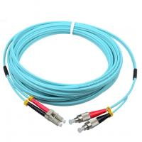 Wholesale OM3 aqua duplex optical jumper FC/UPC-LC/UPC corning fiber LSZH cable jacket from china suppliers
