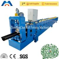 Wholesale Galvanized Metal Water Tube /Pipe/Gutter Roll Forming Machine 10m/min with CE from china suppliers