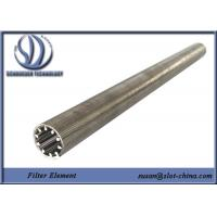 Buy cheap Chemistry Power Stations Process filtration Wedge Wire Candle Filter Screen from wholesalers