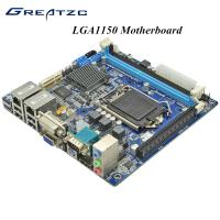 Wholesale 2 LAN VGA HDMI DVI PCIE 16X LGA 1150 Micro ATX Motherboard support SSD from china suppliers
