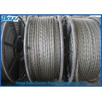 Wholesale High Voltage Transmission Line Pilot Wire 9 - 30mm 658kN T29 Corrosion Rust Proof from china suppliers