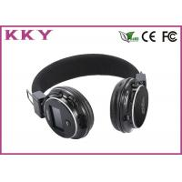 Wholesale 108dB Headband Earphones Bluetooth , Foldable Wireless Headphones With LED Display from china suppliers