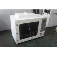 Buy cheap Computerized Vertical Combustion Testing Equipment With 50w Burner from wholesalers
