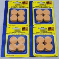 Wholesale 1′′ (25mm) Diameter Round Felt Pads, Beige, 12 PCS from china suppliers