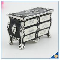 Wholesale European Style Large Storage Desk Shape Trinket Box Creative Retro Jewelry Box SCJ816 from china suppliers