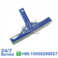 "Wholesale 10"" Cleaning Wall Brushes with Rubber Bumper Swimming Pool Brush - T337 from china suppliers"