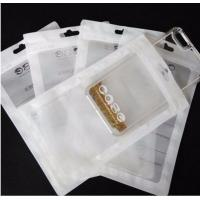 Wholesale High quality clear plastic ziplock USB cable Aluminum Foil packaging bag/phone case packaging bag from china suppliers