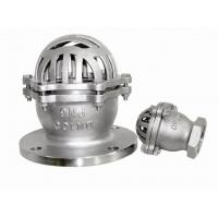 Wholesale Ball Type  Stainless Steel Foot Valve 2 Inch / 4 Inch For Sewage DN15 ~ DN300 from china suppliers
