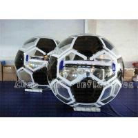 Wholesale OEM / ODM Football Shape Inflatable Water Walking Ball For Swimming Pool from china suppliers