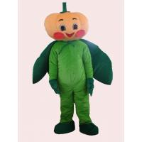 Wholesale custom vegetable fancy dress of pumpkin mascot cartoon cosplay costumes for halloween from china suppliers