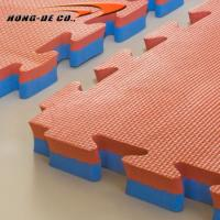 Wholesale 1mX1m Gym mat with 20mm,25mm,30mm,35mm,40mm double colour and high density EVA foam from china suppliers