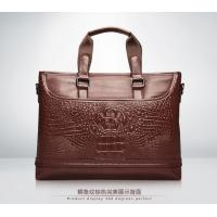 Wholesale croco pattern leather tote case men fashion accessories free shipping from china suppliers