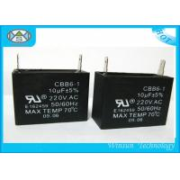 Wholesale Black Motor Run Capacitor CBB61 , AC Start Capacitors For Electric Motors from china suppliers