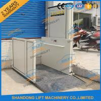 Buy cheap 1m - 12m Hydraulic Stair Wheelchair Platform Lift For The Old People With CE from wholesalers