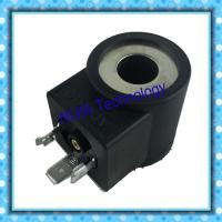 Wholesale DIN43650 Hydraulic Solenoid Coil Tube Φ13 High 37.7mm 20.5W Electric Circuits DC12V DC24V from china suppliers
