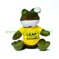 "Quality 7"" Plush Frog for sale"