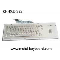 Buy cheap Ruggedized Industrial Metal SS Keyboard with Trackball For Accuate Pointing Device from wholesalers