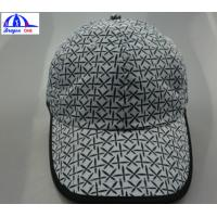 Wholesale Polyester White / Back Unisex Custom Running Caps With Snapback And Top Eyelets from china suppliers