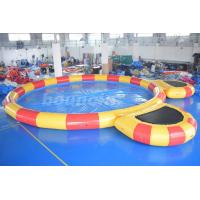 Wholesale Round Large Inflatable Water Pool With Platform For Water Walking Ball from china suppliers