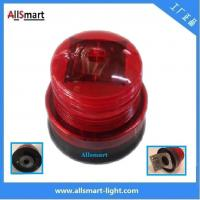 Wholesale 4LED Red Amber Orange Flashing Sensor Marine Signal Lights Solar Powered Strobe Beacon Blink Led Lighting With Magnet from china suppliers