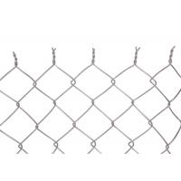 Wholesale Garden Hot Dipped Galvanized Chain Link Fence 2.87mm Twist Knuckled End from china suppliers