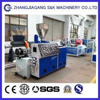 Wholesale Single Screw Pp Extrusion Machine Sj150 / 33  0.6M/Min Speed from china suppliers