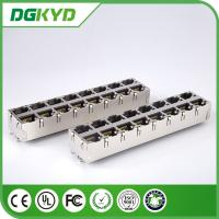 Wholesale KRJ -5921S28NL 180 Degree Vertical RJ45 Multiple Port Connectors No LED 0811-2X8T-28 from china suppliers