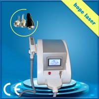 Wholesale White q - switched nd yag laser machine / laser tattoo removal equipment from china suppliers