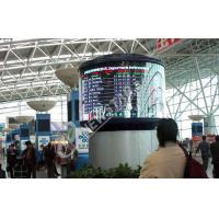 Wholesale Full color P4mm Flexible LED Display / 1R1G1B SMD 2121 Curved led screen from china suppliers