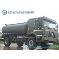 Quality All Wheel Drive SINOTRUK HOWO 4X4  Fuel Tank Truck 12000 L Oil Tanker for sale