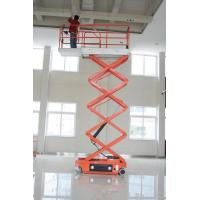 Wholesale 2.2kw Scissor Electric Lifting Platform safety for 4m 6m 8m 10m Working heights from china suppliers