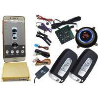 Quality Gps Auto Tracking Vehicle Security Alarm System 12V / 24V Mobile App Central Lock Or Unlock for sale