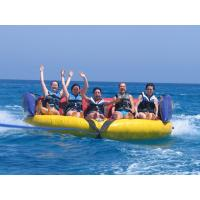 Wholesale Commercial Grade Inflatable Crazy UFO , Towable Inflatables Water Ski Tubes from china suppliers