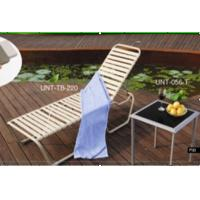 Wholesale Indoor / Outdoor Folding Patio Sun Loungers Chair For Beach / Pool Deck from china suppliers